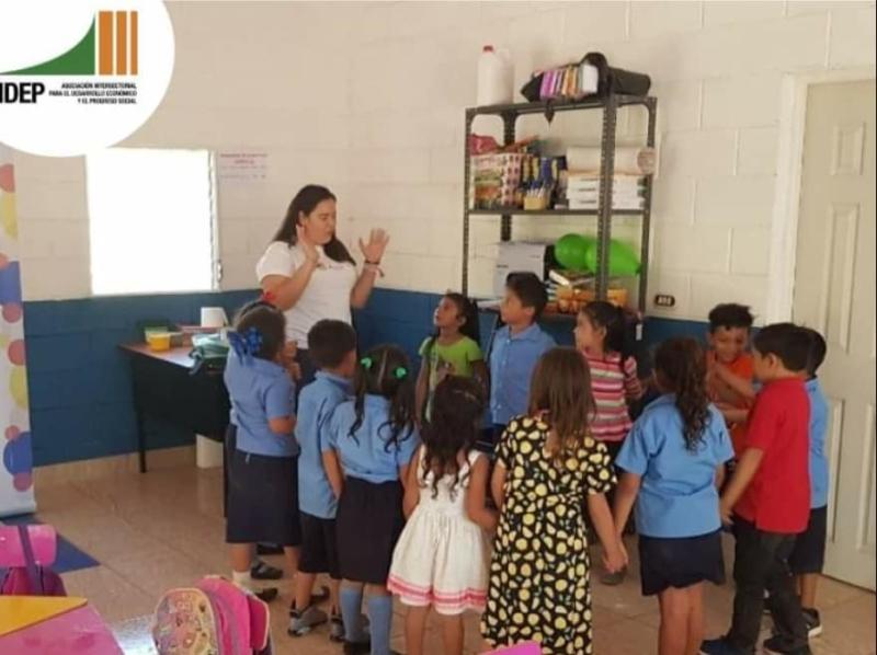 Imagen de la noticia Mejorando la educación para las niñas y niños de Chirilagua, El Salvador